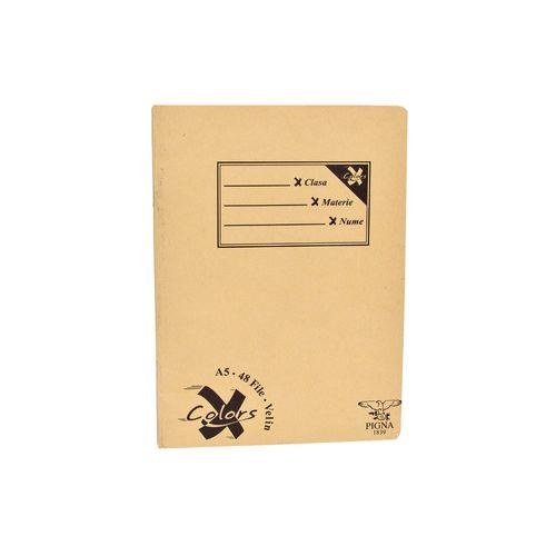 Caiet Pigna Basic, A5, 48 file, veline