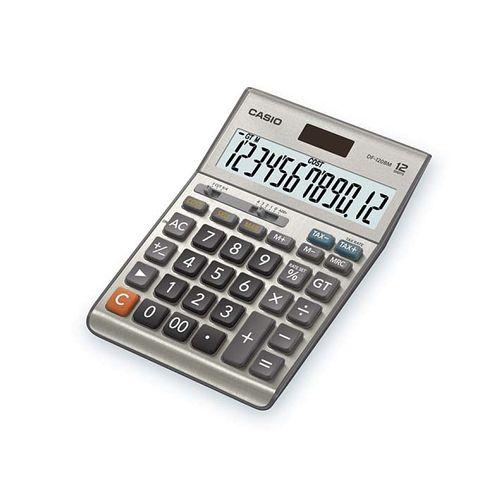 Calculator de birou Casio DF-120BM, 12 digits, argintiu