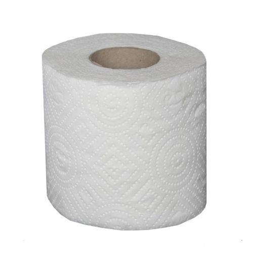 Hartie igienica, 2 straturi, alb, 10 role/set