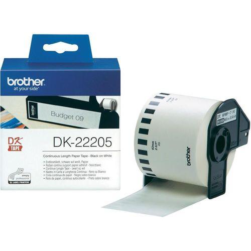 Rola termica Brother DK-22205, 62  mm x 30.48 m
