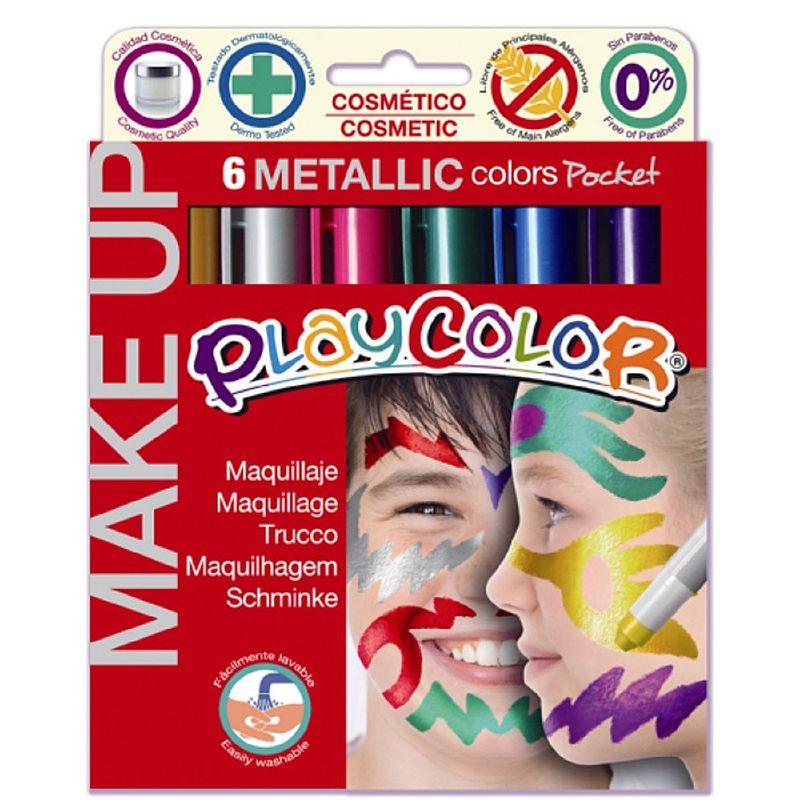 Tempera-solida-pentru-picturi-pe-fata-Dunsa-6-culori-metalizate