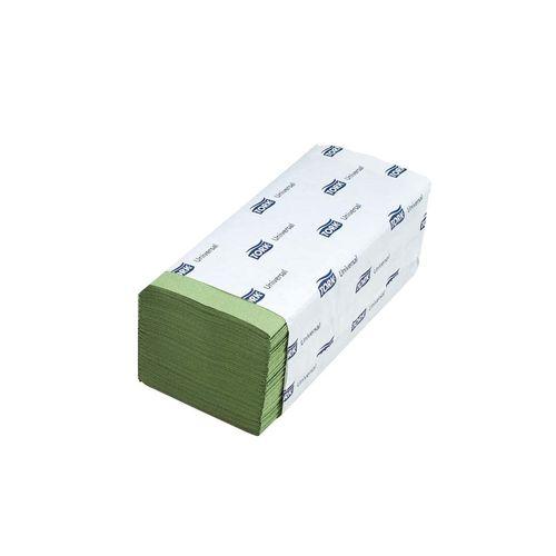 Servetele pliate Z Tork Universal, 1 strat, verde, 200 bucati/set