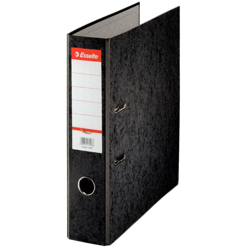 Biblioraft-Esselte-Rainbow-7.5-cm-negru