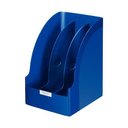 Suport vertical Leitz Plus Jumbo, albastru