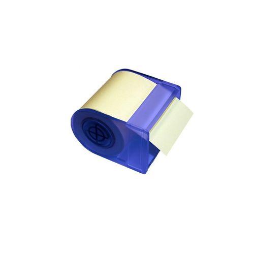 Dispenser cu notes adeziv Info Notes, 60 mm x 10m, galben