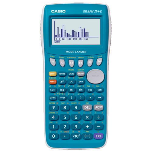 Calculator stiintific Casio Graph 25+E, 400 de functii, albastru