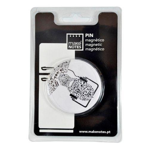 Pin magnetic Make Notes Music, alb