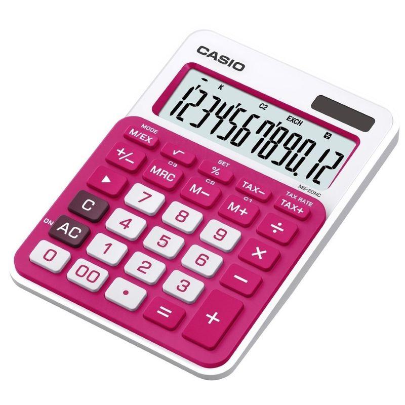 Calculator-de-birou-Casio-MS-20NC-RD-12-digit
