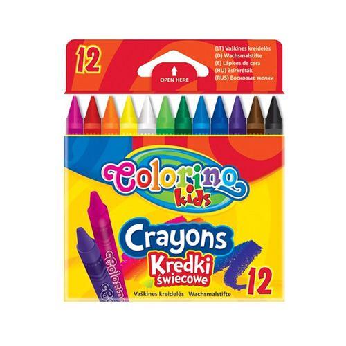 Creioane cerate Colorino, 12 culori