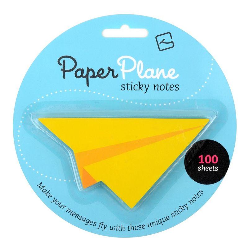 Notes-adeziv-Avion-galben