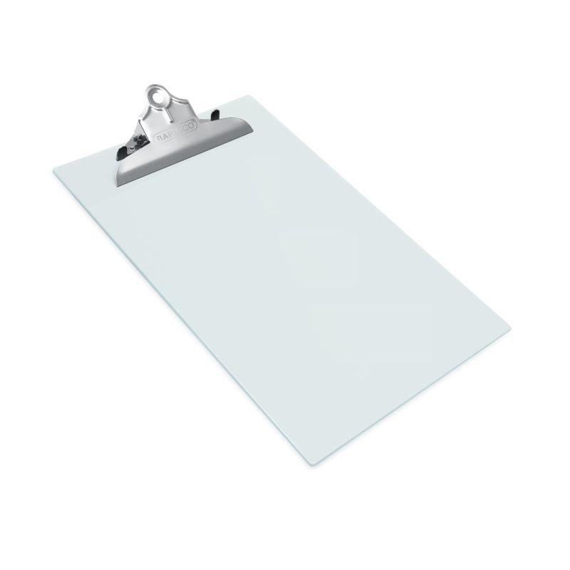 Clipboard-simplu-Rapesco-heavy-duty-transparent