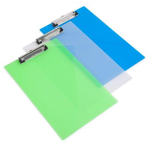 Clipboard simplu Rapesco, A4, diverse culori, transparent