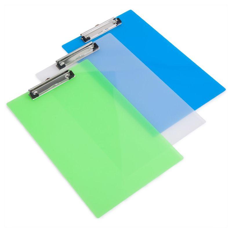 Clipboard-simplu-Rapesco-diverse-culori-transparent
