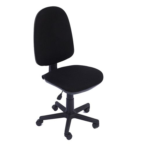 Scaun ergonomic Violeta, stofa, negru