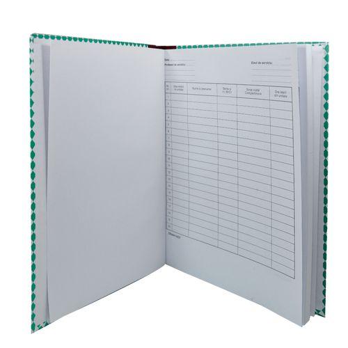 Registru elevului de serviciu pe scoala, coperta carton