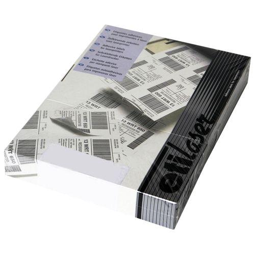 Etichete autoadezive Etilux  Etilaser, 22/A4, alb