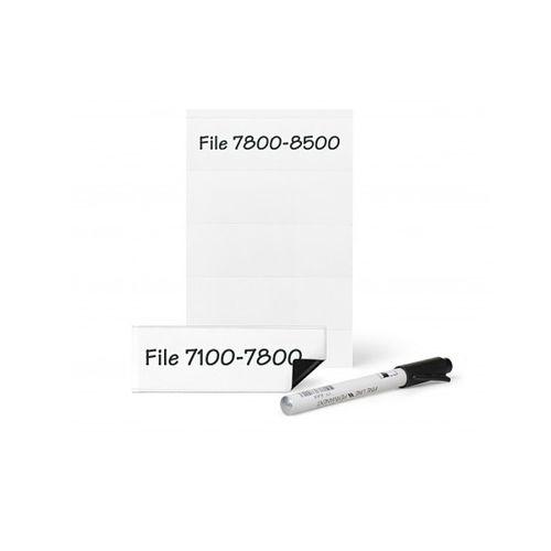 Suport magnetic Tarifold, pentru etichete, 35 mm x 102 mm, 4 bucati/set