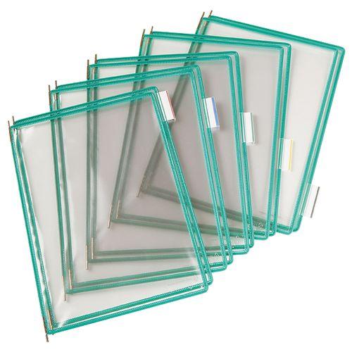 Folie pentru sistem de prezentare Tarifold A4, 10 bucati/set