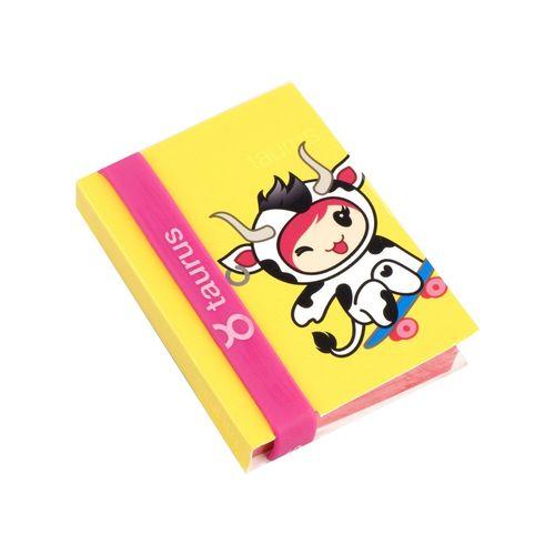 Notepad Thinking Gift zodiac