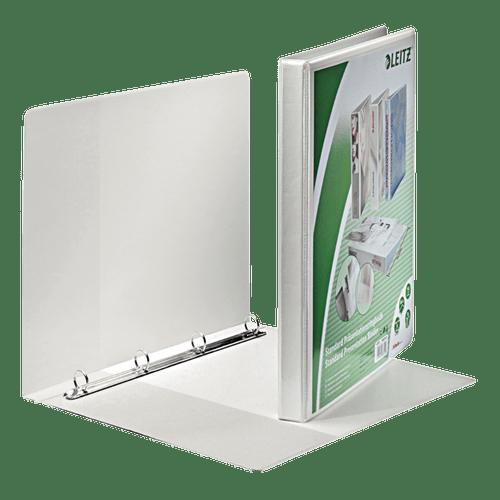 Caiet mecanic Leitz Panorama Maxi, A4, mecanism 4RR, inel 16 mm, alb