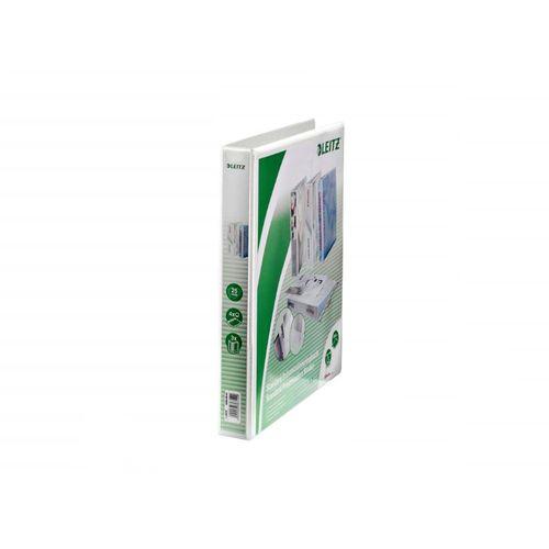 Caiet mecanic Leitz Panorama Maxi, A4, mecanism 4DR, inel 25 mm, alb