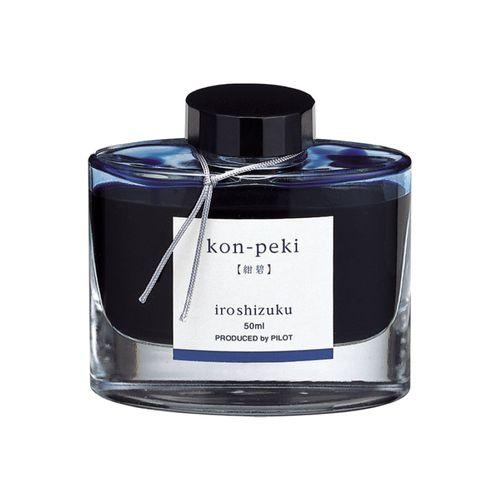 "Cerneala Pilot Iroshizuku ""Azur"", 50 ml, albastru"