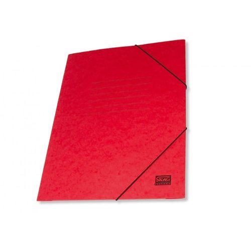Mapa carton cretat Skag, A4, inchidere cu elastic