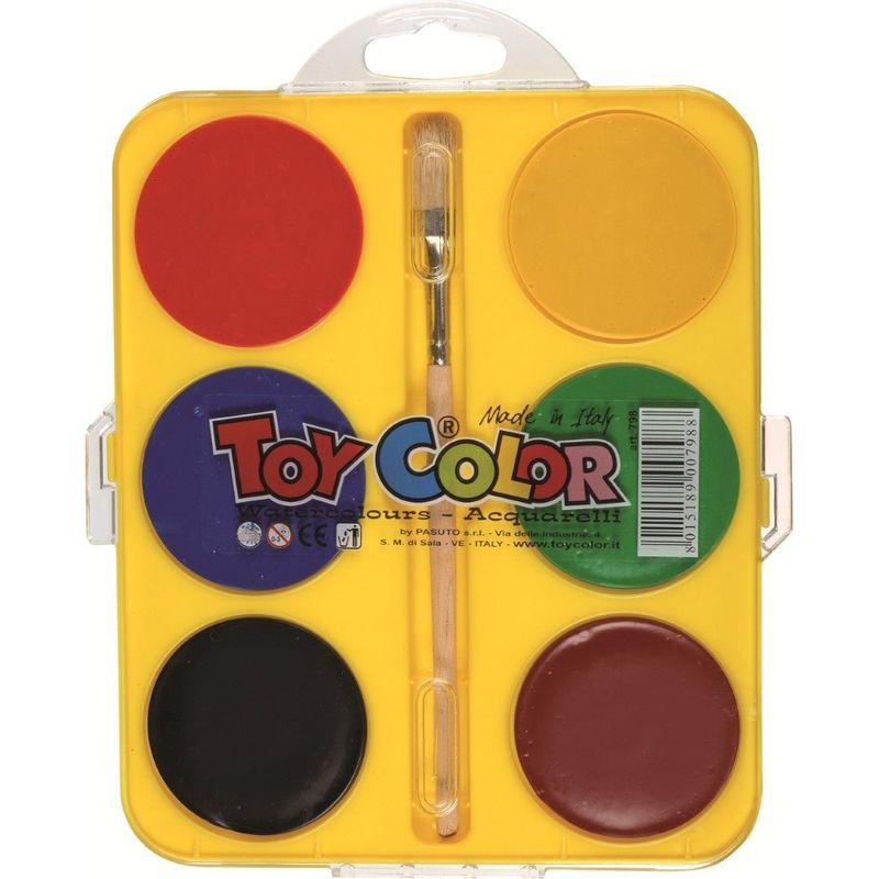 Acuarele-Toy-Color-Jumbo-6-culori