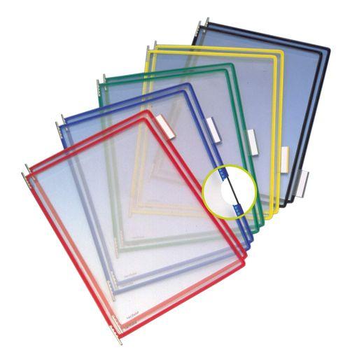 Folie pentru sistem de prezentare Tarifold, A5, 10 bucati/set
