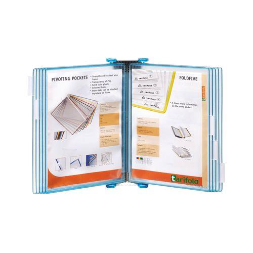 Sistem de prezentare Tarifold Candy Line, A4, albastru