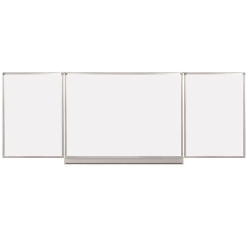 Tabla magnetica Bi-Silque Trio, rama din aluminiu, 120 x 240cm