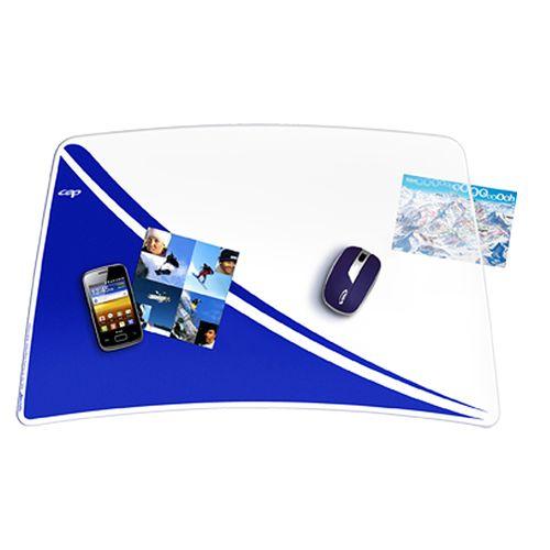 Mapa de birou CEP Happy, albastru