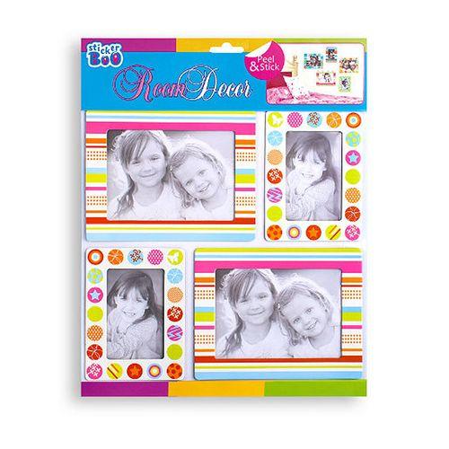 Rama foto Starpack, multicolor, 4 bucati/set