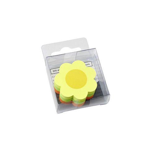 Notite adezive Info Notes, 50 x 50 mm, floare, 225 file
