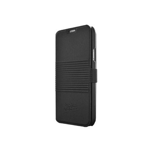 Book Jean Paul Gaultier pentru Galaxy S5 Can Logo, piele, negru
