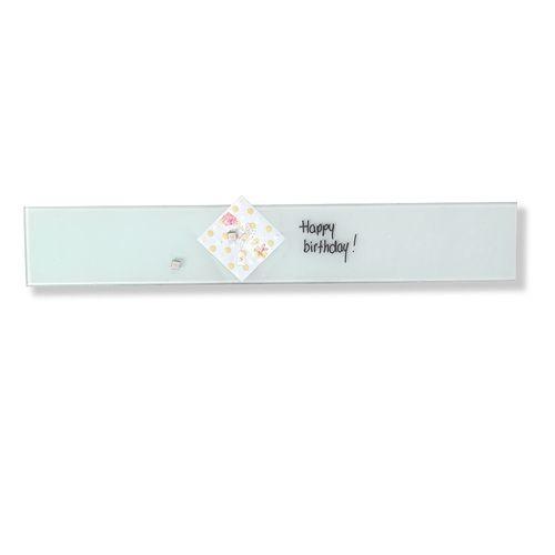 Suport magnetic din sticla Naga, 10 x 60 cm