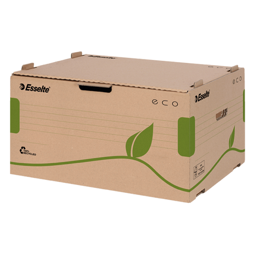 Container arhivare Esselte Eco, deschidere frontala, pentru cutii 80/100
