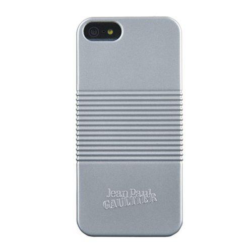 Capac spate Jean Paul Gaultier pentru iphone 5/5 Conservbox, argintiu
