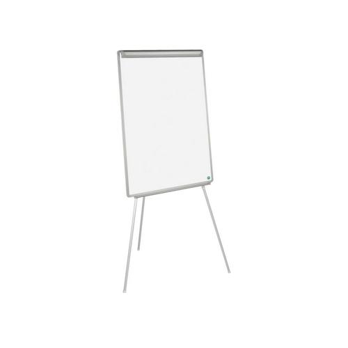 Flipchart nemagnetic fix Bi-Silque Eco, rama din aluminiu, 70 x 100 cm