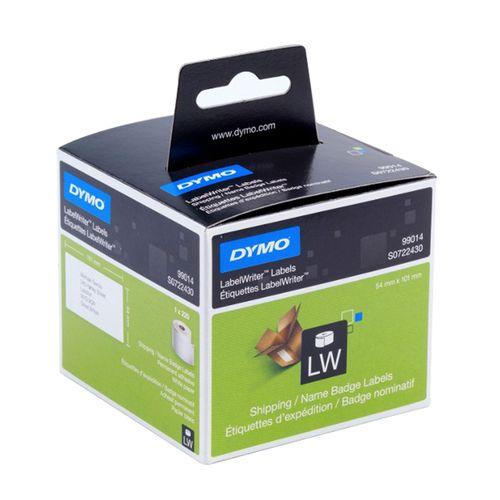 Etichete Dymo LaberlWriter, pentru adrese voiaj, 101 mm x 54 mm, 220 bucati/rola