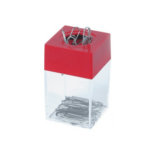 Dispenser magnetic, pentru agrafe