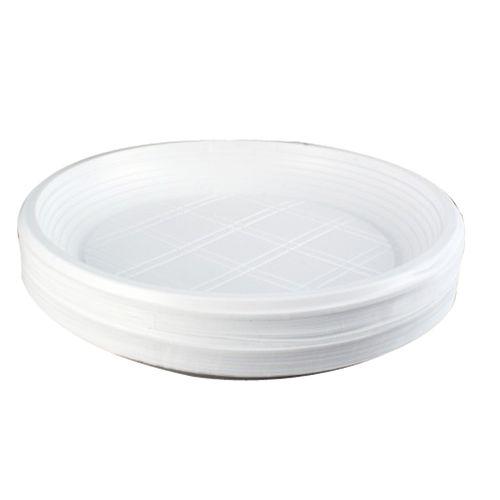 Farfurie plastic, 50 bucati/set