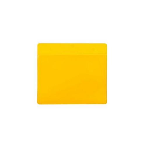 Buzunar orizontal Tarifold pentru identificare, A5, galben, 10 bucati/set