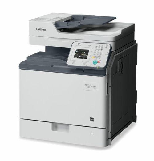 Multifunctional laser color Canon IRC1225, dimensiune A4 (Printare, Copiere, Scanare), duplex, viteza max 25ppm alb-negru si color, rezolutie max