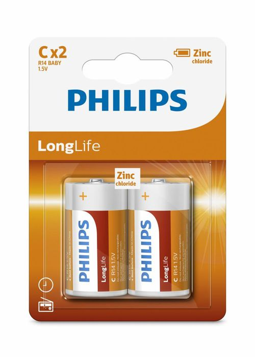 Philips LongLife C 2-blister
