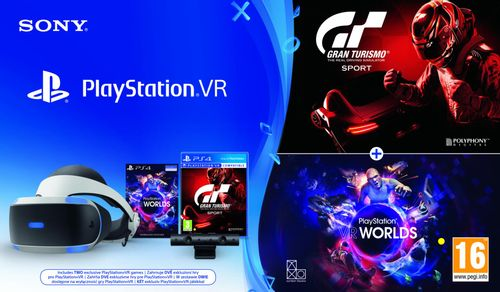 SONY PlayStation Virtual Reality - PS VR uses the power of PlayStation 4: Simply connect the two systems for immerse yourself in new experiences in a