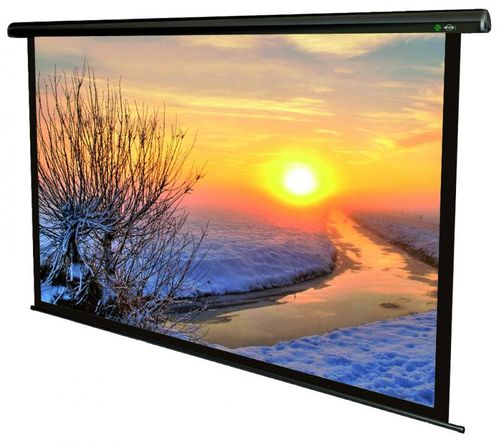 Ecran de proiectie electric Sopar Lorenzo, 180 x 180cm, Telecomanda fara fir, 5180LO, SP5180LO