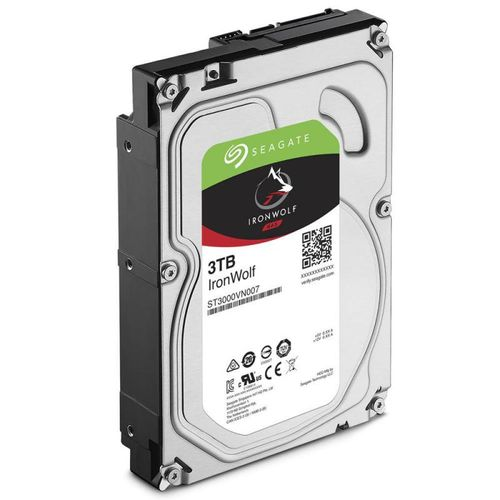 "HDD intern Seagate, 3.5"", 3TB, IronWolf, SATA3, 5900rpm, 64MB"