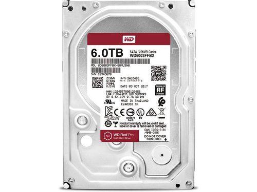 """HDD intern WD, 3.5"""", 6TB, RED PRO, SATA3, 7200rpm, 256MB"""