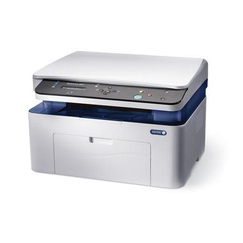 Multifunctional laser mono Xerox WorkCentre 3025V_BI, Dimensiune A4, Viteza max 20 ppm, Rezolutie max 1200x1200 dpi, fpo 8.5s, Memorie 128MB, GDI,